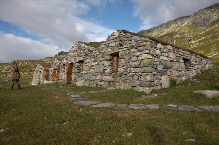 Steinbuene i Vivassdalen