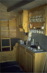 Brokefoss kjøkken og sengene