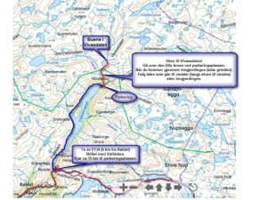 Kart Veien frem